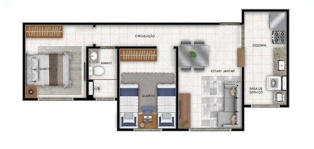 Apartamento à venda, 47 m² por R$ 170.000,00 - Cidade Satélite - Natal/RN - Foto 9
