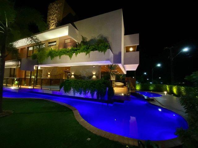 Casa belíssima a venda no Bosque das Gameleiras - 04 suítes - 538m - Luxo! - Foto 3