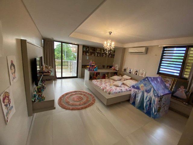 Casa belíssima a venda no Bosque das Gameleiras - 04 suítes - 538m - Luxo! - Foto 10