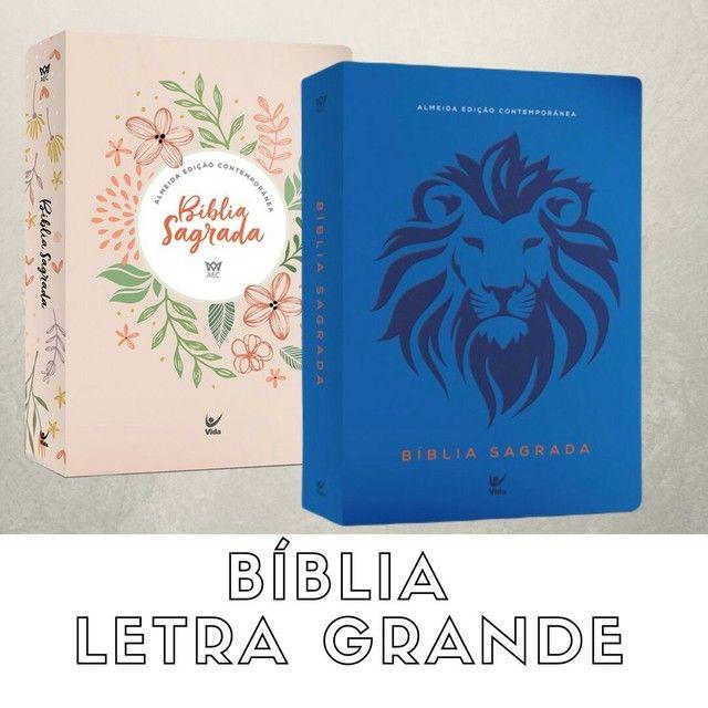 Bíblias letra grande. - Foto 4