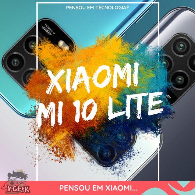 Xiaomi Mi 10 Lite 128gb - Rede 5G   Lacrado com garantia   Versão global