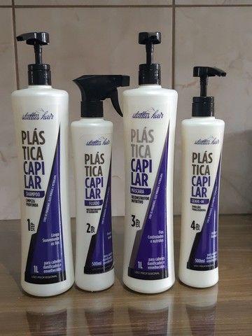 Kit Profissional Plástica Capilar - Hidratação Ultra Profunda