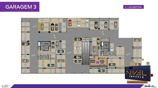 Apartamento com 2 dormitórios à venda, 67 m² por R$ 444.603 - Setor Oeste - Goiânia/GO - Foto 14