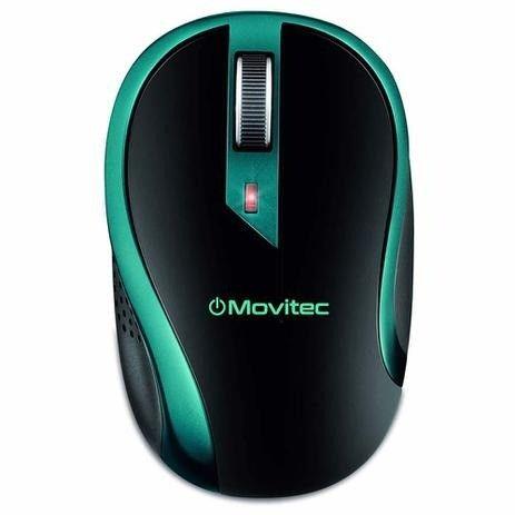 Mouse Óptico Sem Fio Movitec