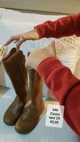lindos sapatos de marca  menina de várias numeração  - Foto 3