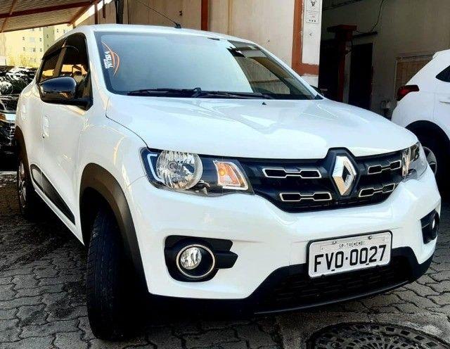 15-Renault Kwid 1.0 Flex 2018 Baixissimo km  - Foto 9