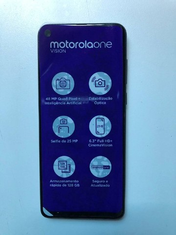 Motorola One Vision para retirar peças - Foto 5