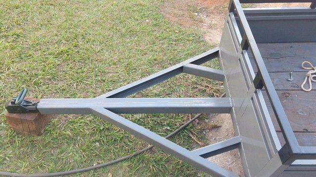 Carretinha em Metal aguenta peso - Foto 13