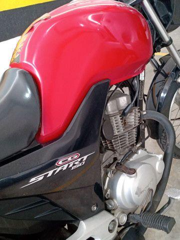 CG 150 start excelente preço impecável 12 X no cartão troco carro ou moto - Foto 5