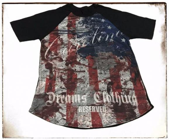 Camisas Personalizadas Dreams Clothing Reserved