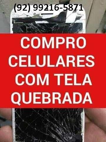 Compro Celular Samsung/Motorola com display e tela quebrado ou queimado