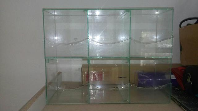 Babaleiro em vidro