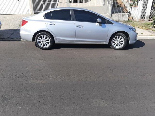 Honda Civic LXR 2014 2 dono particular - Foto 5