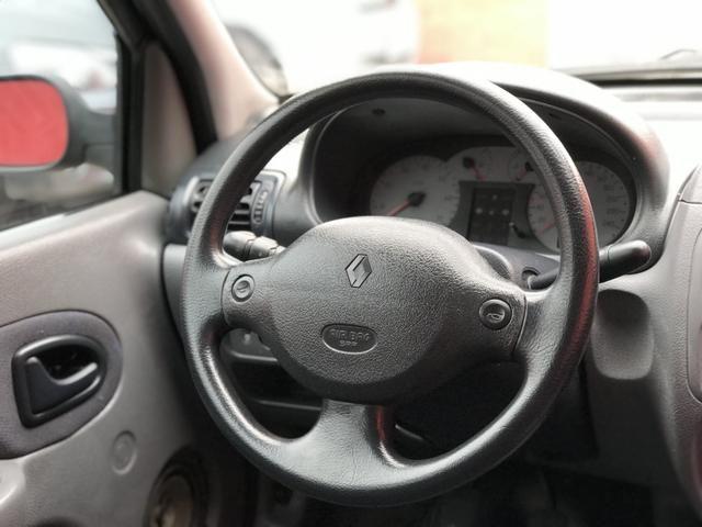 Clio sedan 2003 1.6 RT completo - Foto 4