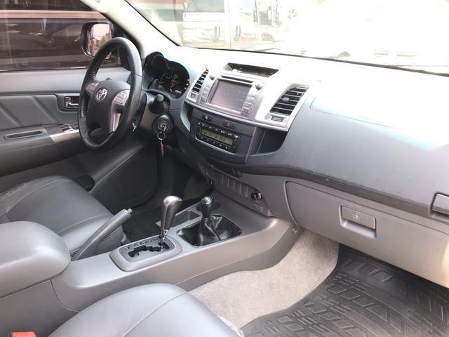 Toyota Hilux Cd Srv 3.0 Diesel 4X4 Automatica impecavel 107 mil km - Foto 10