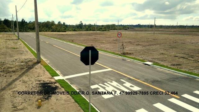 Lotes Prontos Para Construir Parcelas 650 Reais Direto Sem Entrada Araquari - Foto 2