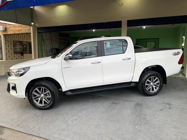 Hilux SRV 2.8 Branca 4X4 Diesel 2020 0KM - Foto 3