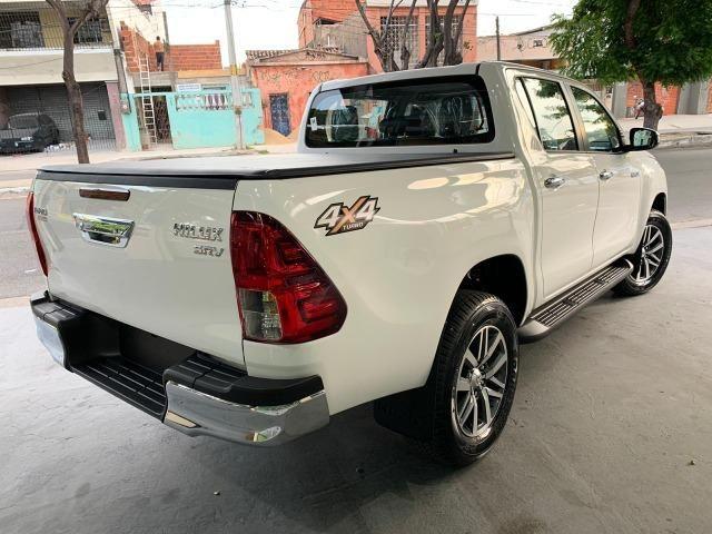 Hilux SRV 2.8 Branca 4X4 Diesel 2020 0KM - Foto 6