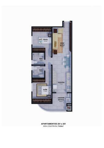 Apartamento parcelamento direto com a construtora sem juros Ingleses - Foto 5