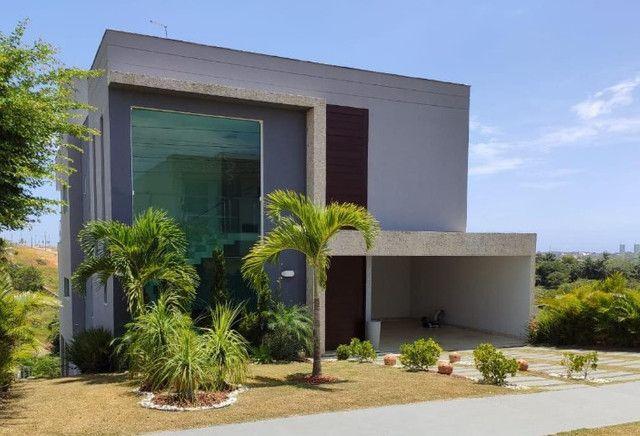 Excelente casa no Alphaville Litoral Norte II - 318 m² - 4/4 sendo 3 suítes - Casa nova - Foto 5