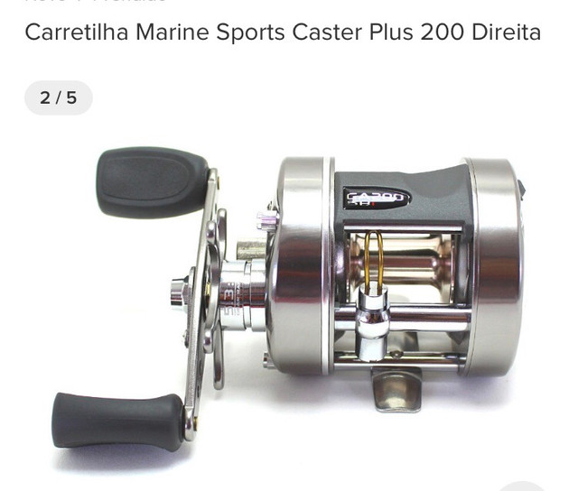 Carretilha caster Plus 200 - Foto 2