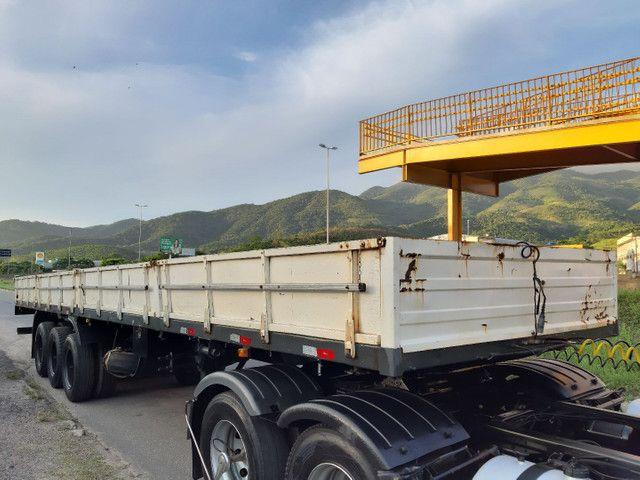 Carreta Reboque Krone S Cot Cabb carga seca com pino de container ANO 1994