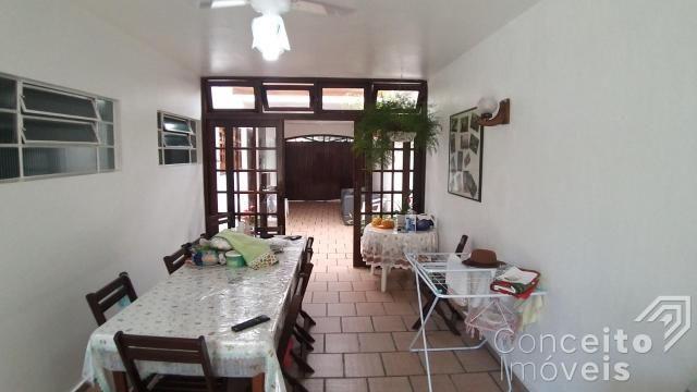 Casa à venda com 3 dormitórios em Jardim carvalho, Ponta grossa cod:393032.001 - Foto 13