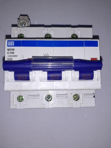 Disjuntor tripolar 100A - Foto 3