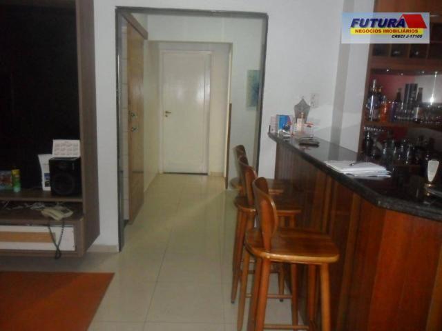 Apartamento com 3 dormitórios à venda, 127 m² por R$ 395.000,00 - Gonzaguinha - São Vicent - Foto 2