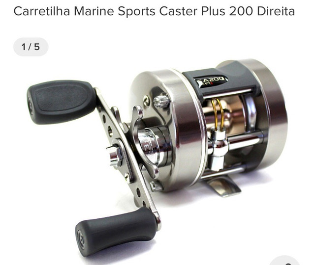Carretilha caster Plus 200 - Foto 3