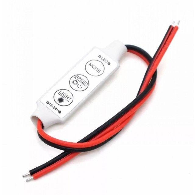 (WhatsApp) mini controlador utilizador fita led - 12 ~ 24v