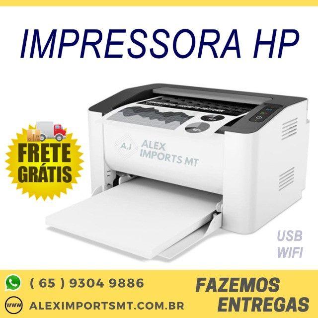 Impressora Laser Mono Hp M107W 1200dpi Usb / Wifi 4ZB78A M107A