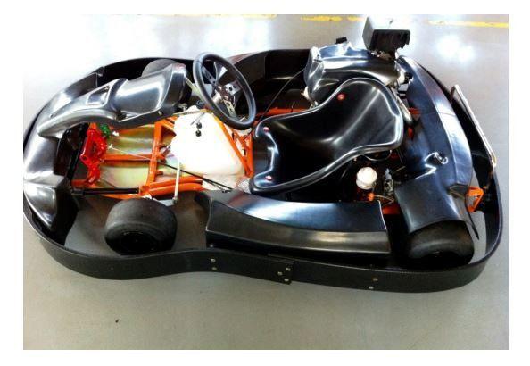 Kart Indoor 13HP chassis metalmoro