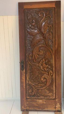Portas de Madeira Trabalhada - Foto 2