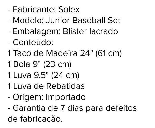 Kit Basebal 150 - Foto 6