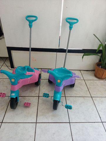 Motoca infantil c\ acessorios CADA - Foto 2