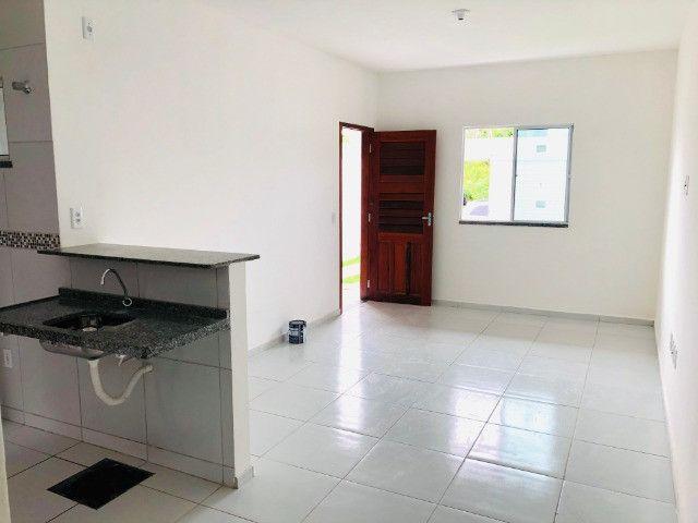 DP casa nova com 2 quartos 2 banheiros a 10 minutos de messejana - Foto 7
