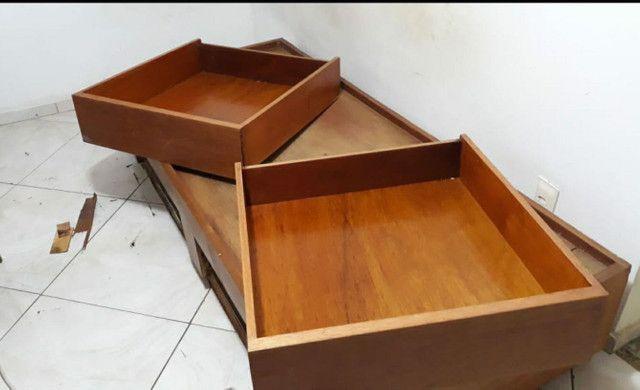 Desapego escrivaninha, cama e colchão solteiro - Foto 4