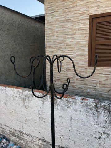 Cabideiro em ferro artesanal  - Foto 2