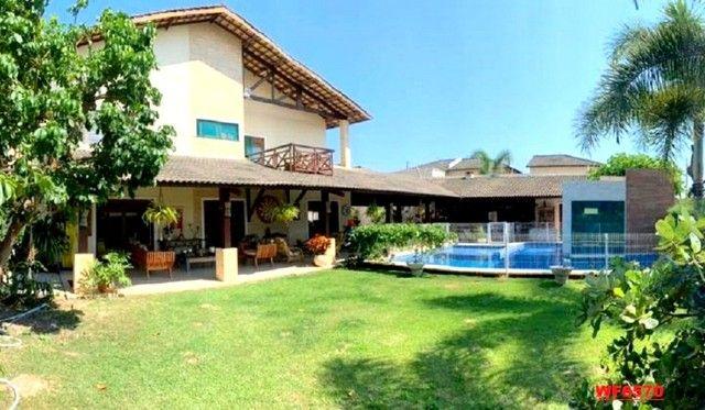 Vila Morrena, casa duplex com terreno duplo, 3 quartos, piscina, 6 vagas, Eusébio - Foto 5