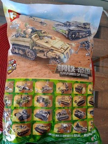Brinquedos Blocos De Montar Diversão Infantil Lego - Foto 2