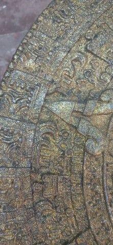 Calendário Asteca Envelhecido - Foto 4
