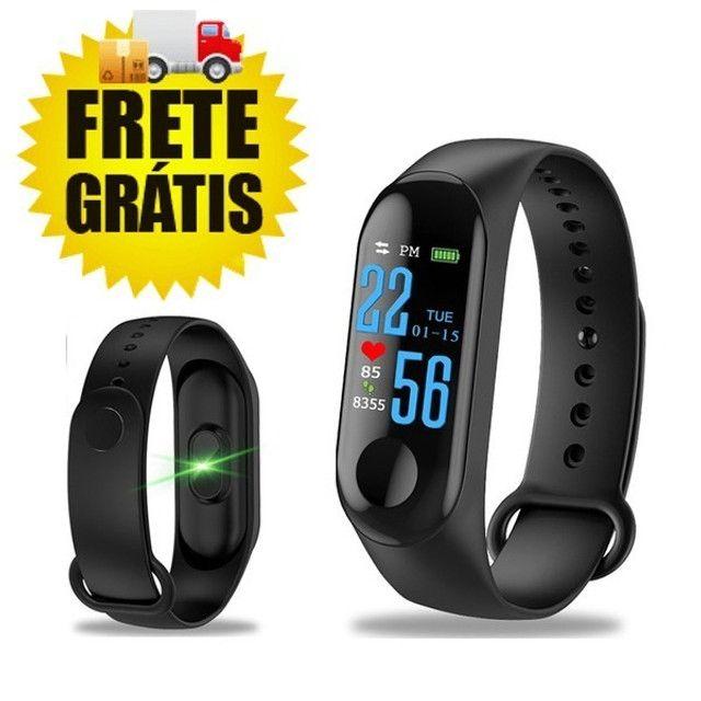 Smartband - Pulseira Inteligente M3 (Monitore Sua Saúde Pelo Seu Relógio)