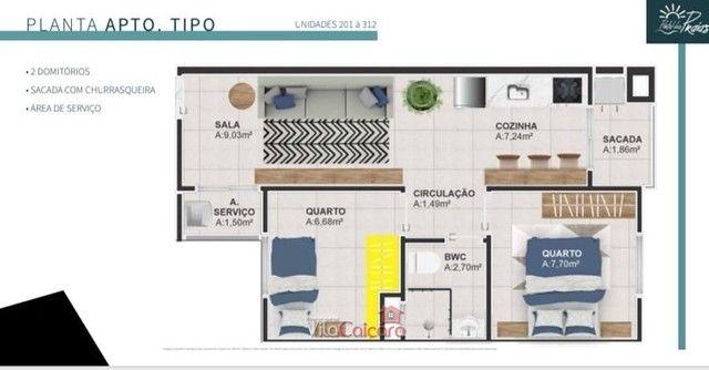 Apartamento no Sertaozinho em Matinhos Parana - Foto 8