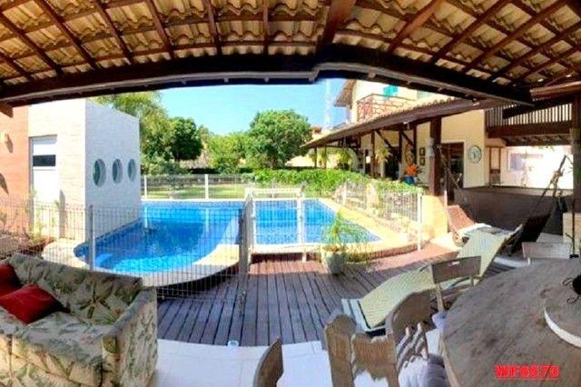 Vila Morrena, casa duplex com terreno duplo, 3 quartos, piscina, 6 vagas, Eusébio - Foto 3