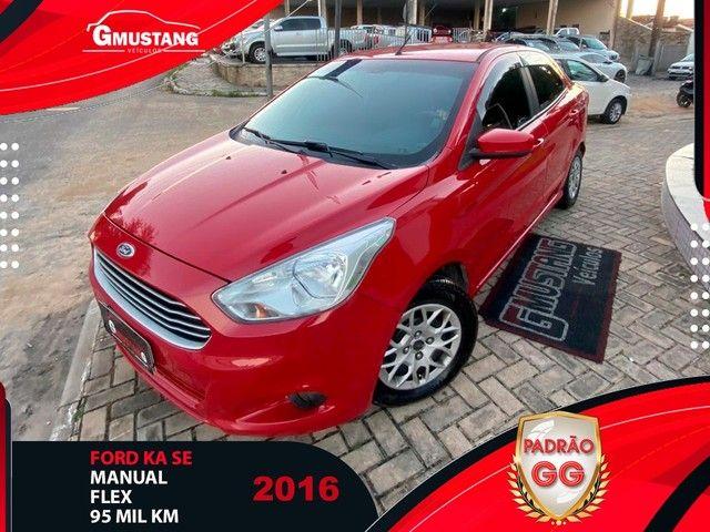 Ford ka SEDAN 2016 1.5 COMPLETAO ( Gmustang veiculos )