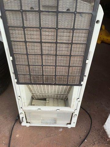 Climatizador umidificador suporte água  - Foto 3