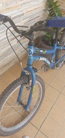 Vendo bike aro 20. Usada 1 vez  - Foto 2