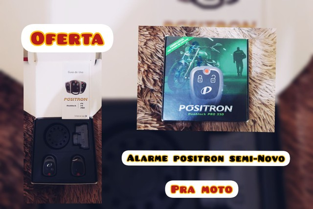 Alarme Positron Semi-Novo (Moto)