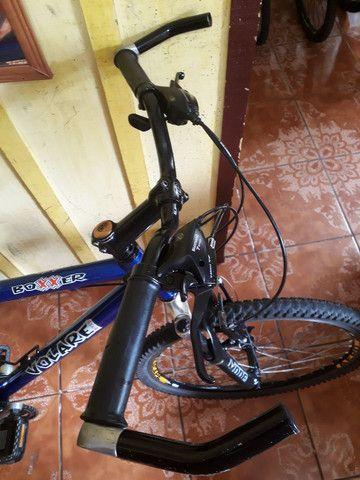 Bike semi nova quadro 21 aro 26 - Foto 6